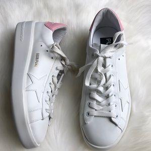 Golden Goose Purestar white pink sneakers 37